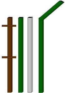 изготовление металлические столбы в Махачкале
