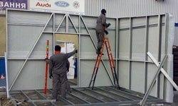 Строительство торговых павильонов в Махачкале